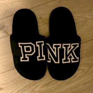 3 for $30 Pink Velvet Slippers